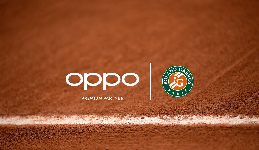 OPPO è Premium Partner e brand smartphone ufficiale di Roland-Garros
