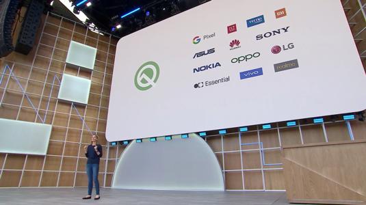 Android Q Betaプログラムに参加し、Google I/O 2019で5G機能を紹介