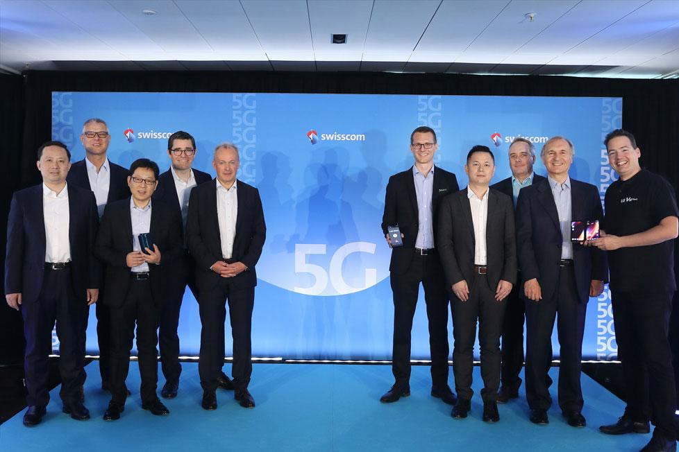 「OPPO 5Gランディングプラン」第1弾 欧州での商品のローンチでSwisscomと連携