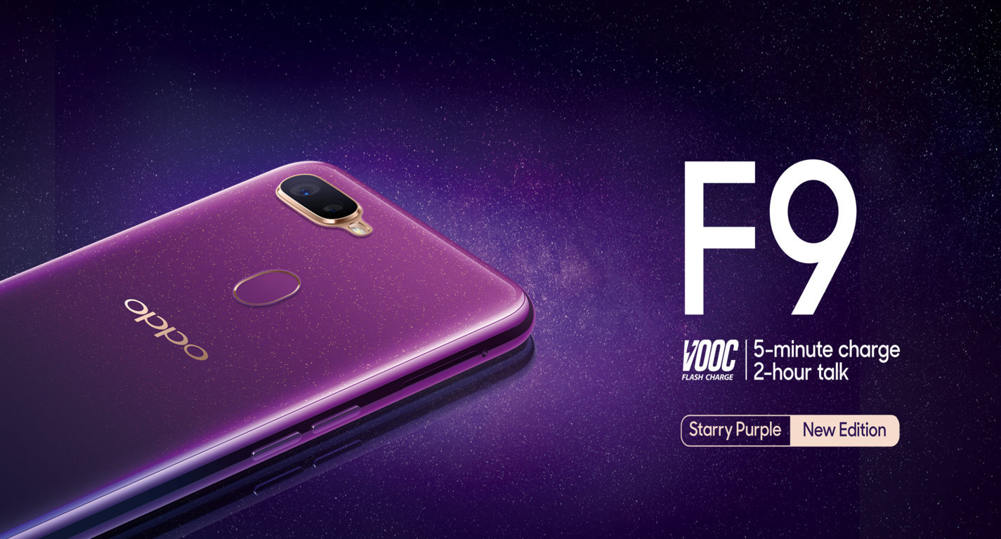 OPPO Unveils F9 Starry Purple Edition