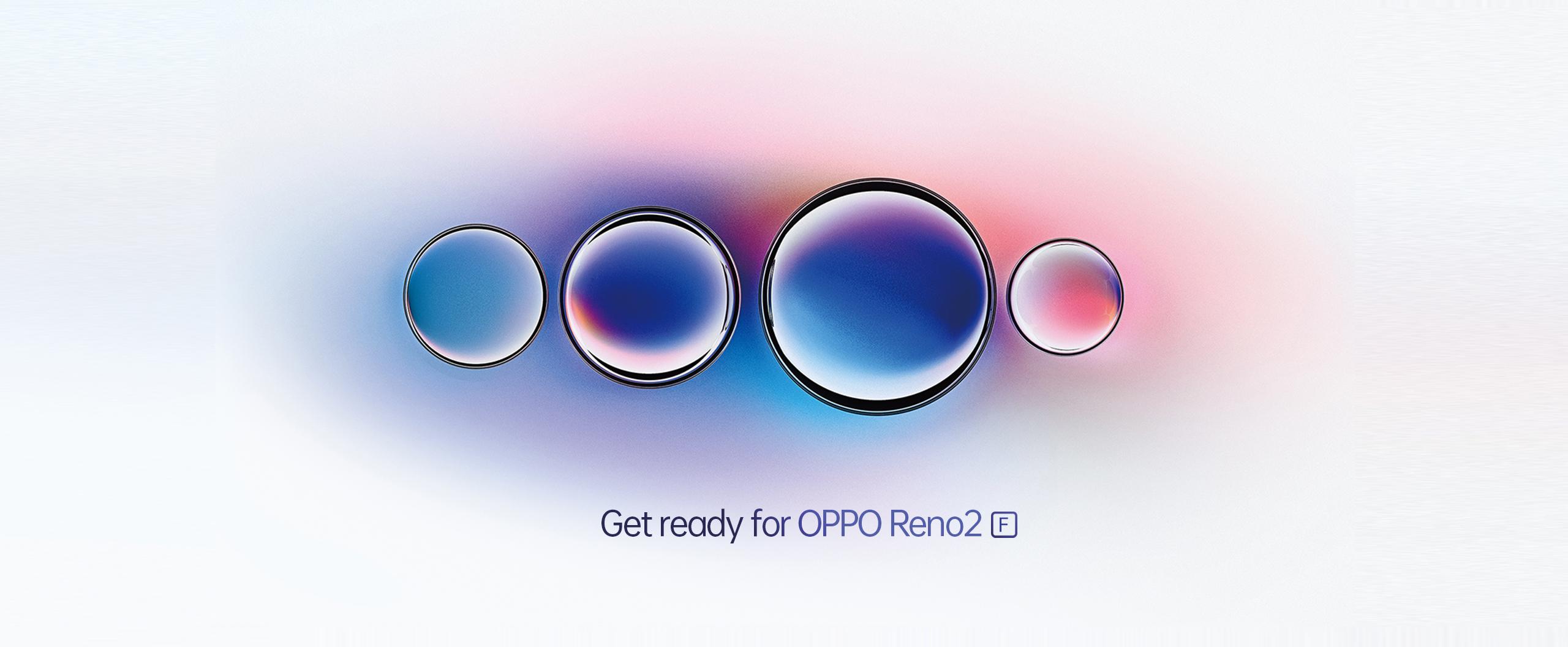 Photography Powerhouse OPPO Reno2 F Series Set to Redefine Creativity
