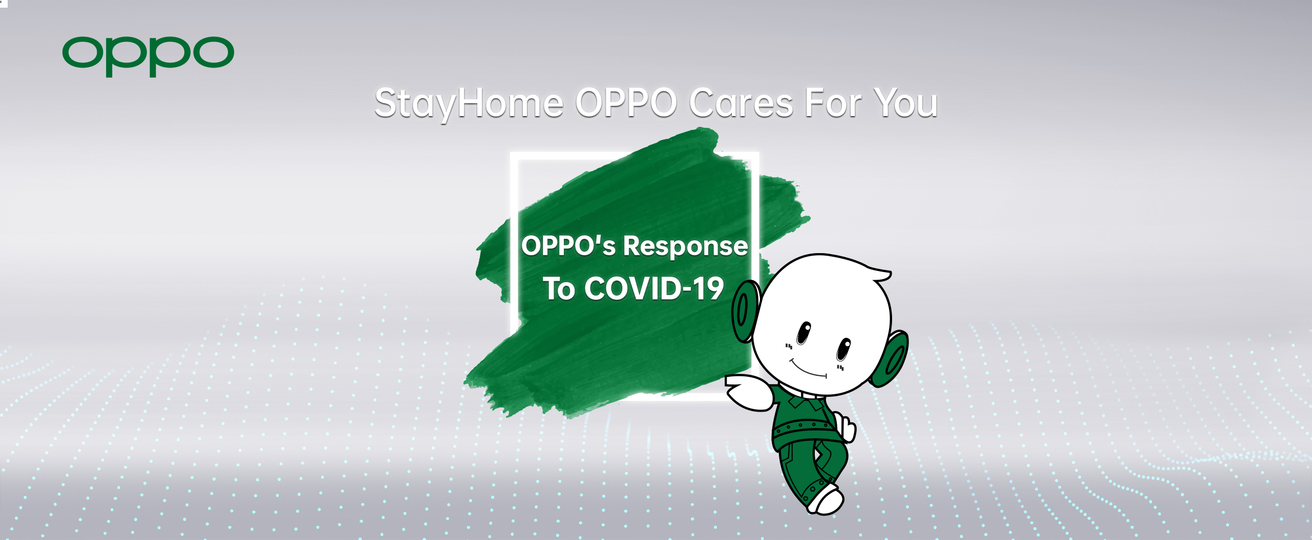 OPPO's response to COVID-19
