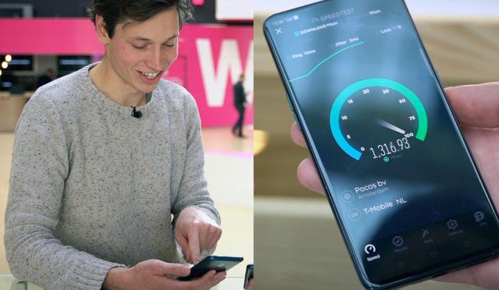 OPPO en T-Mobile hosten eerste publieke 5G verbinding in Nederland tijdens Bright Day