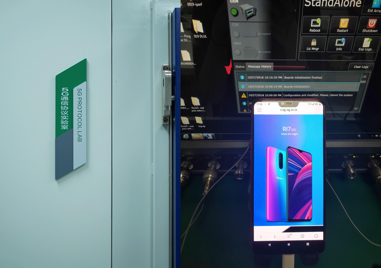OPPO brengt eerste 5G-verbinding tot stand