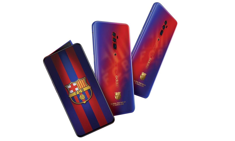 Vanaf morgen exclusief te koop bij MediaMarkt: de nieuwe OPPO Reno 10x Zoom FC Barcelona Editie