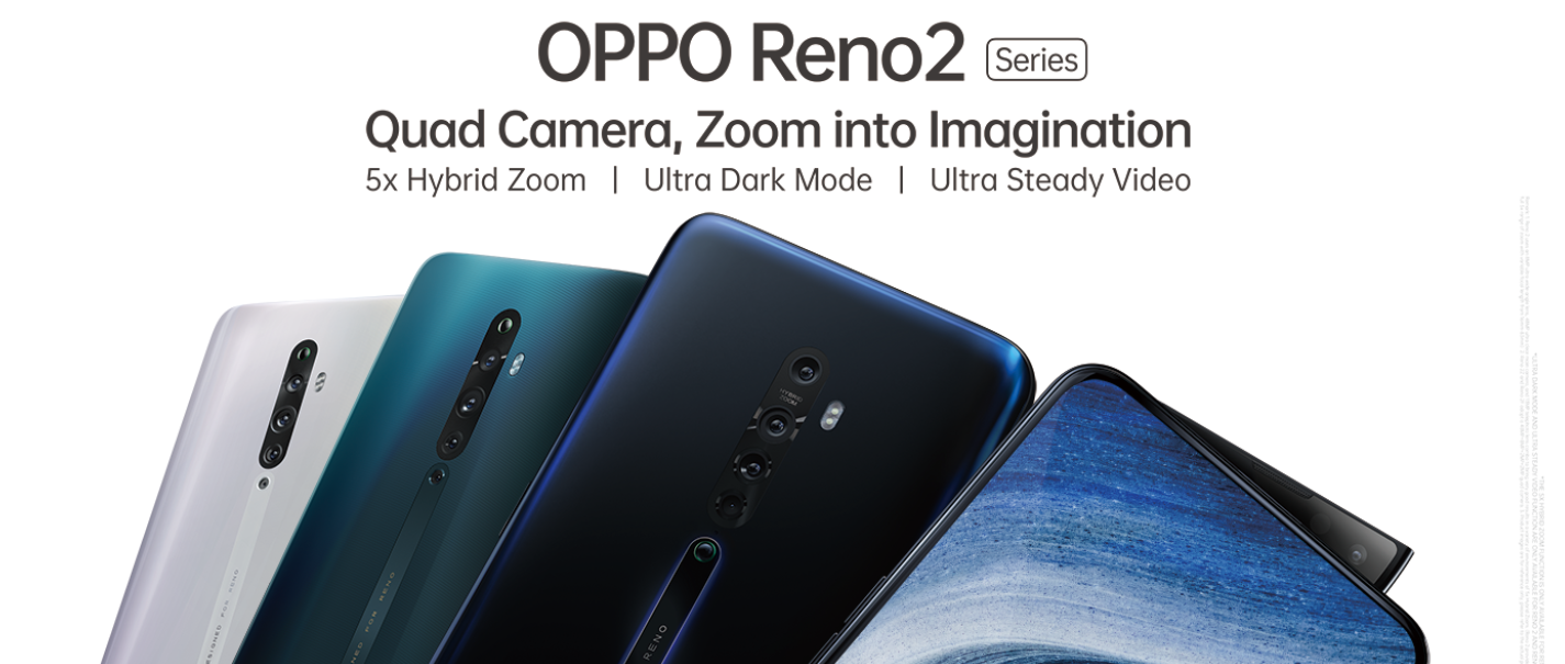 OPPO lanceert picture perfect Reno2 serie