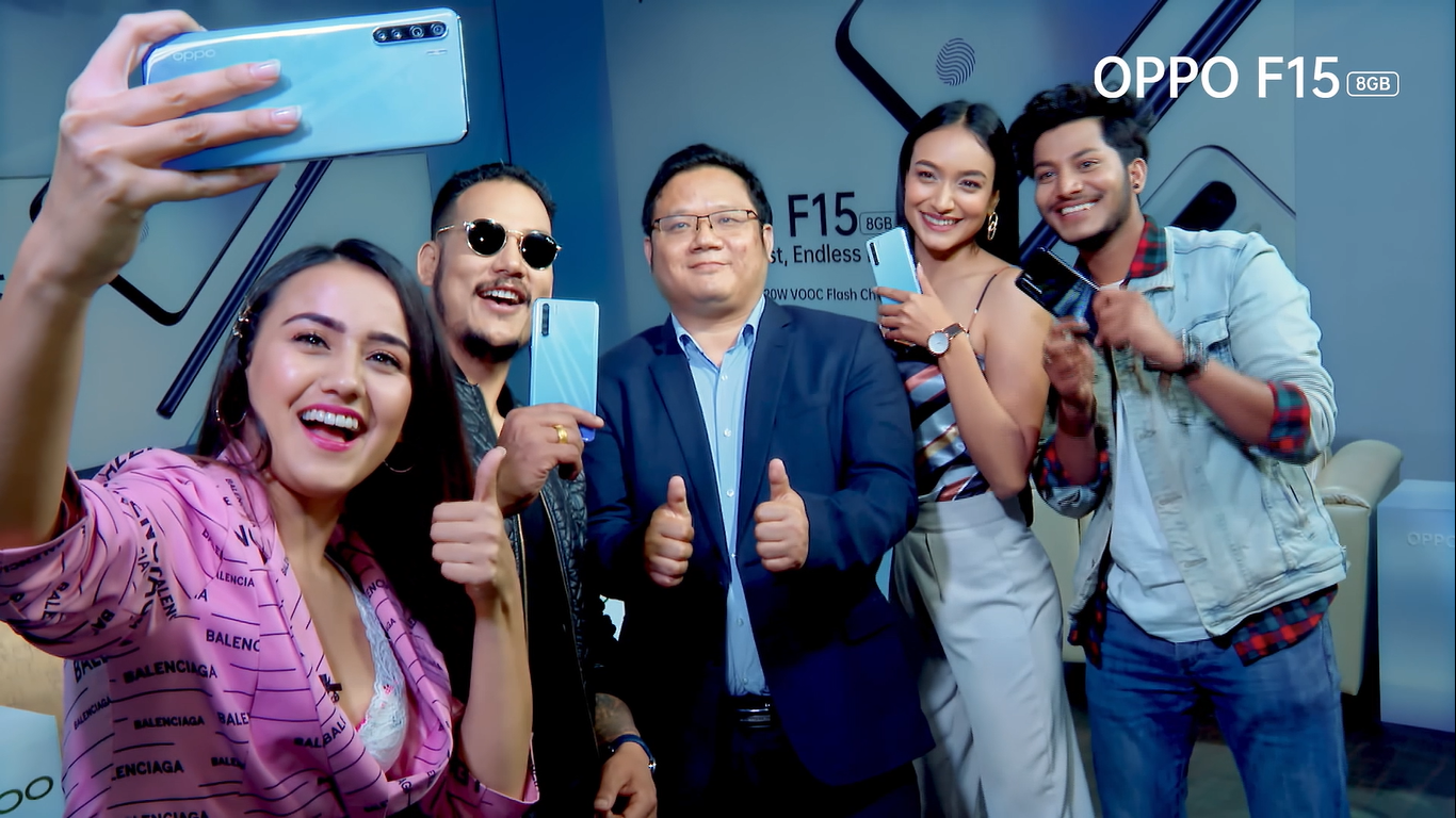 OPPO Launches OPPO F15 in Nepal:  Pro Photography Comes in an Ultra-Sleek Package