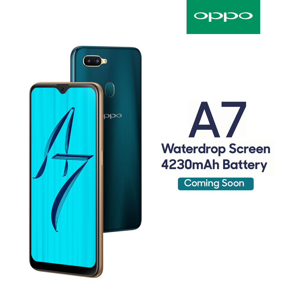 OPPO all set to introduce A7 in Nepal