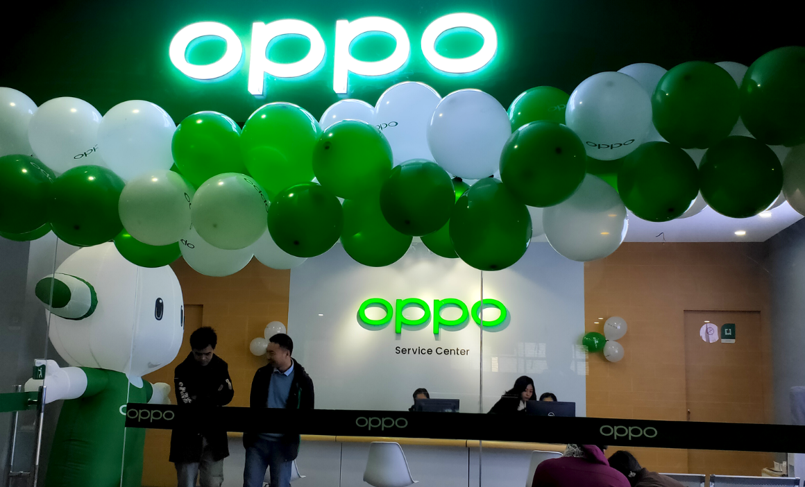 OPPO inaugurates its 2nd Customer Care Service Centre in Kathmandu at CTC Mall.