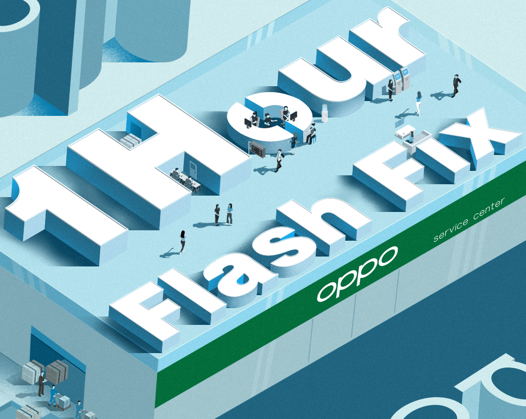 OPPO Officially Introduces first-ever 1-Hour Flash Fix  for Faster, Convenient Customer Service Experience