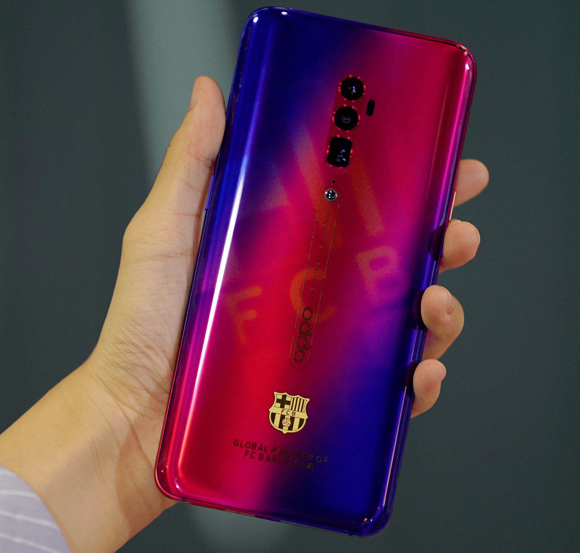 Smartphone giant OPPO renews three-year partnership with world-famous team FC Barcelona