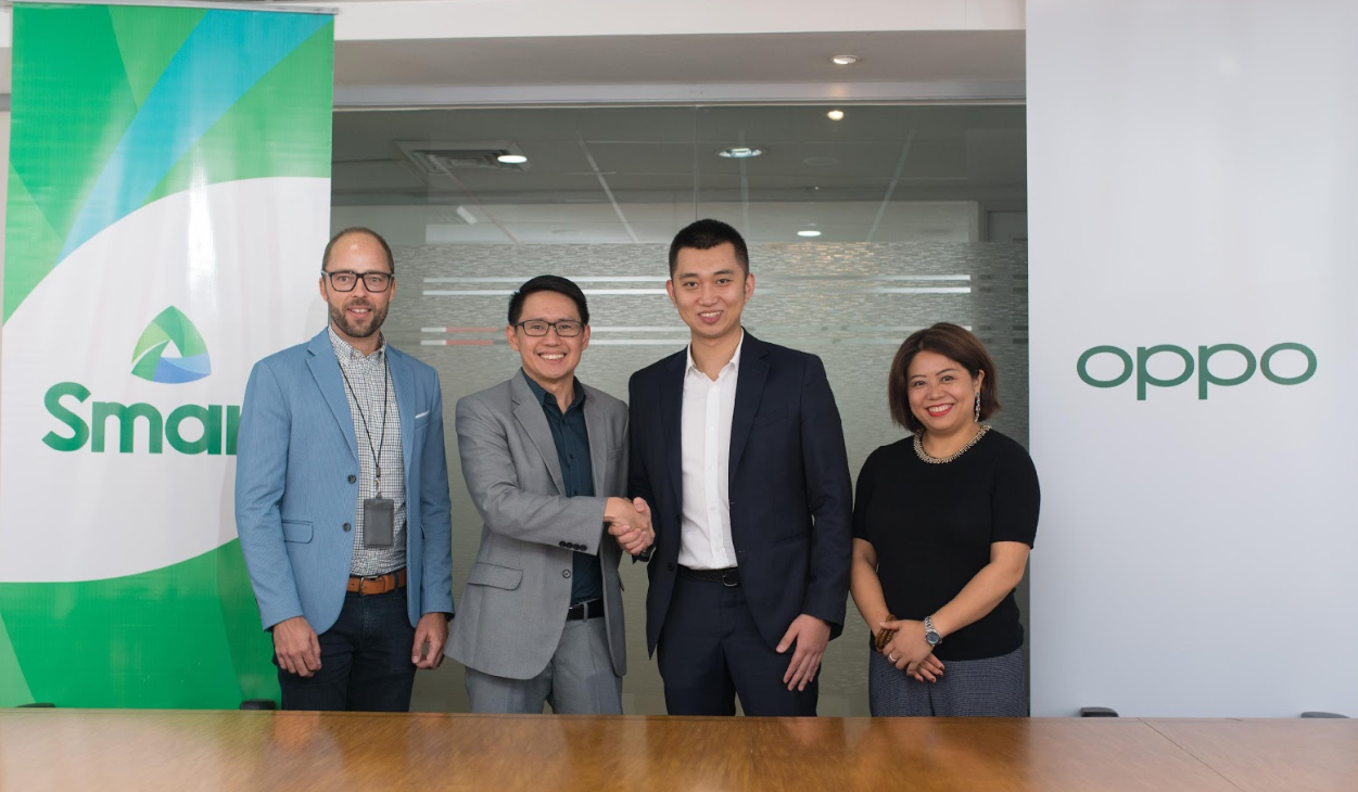 OPPO furthers partnership with Smart to strengthen Filipinos' connectivity and mobile experience