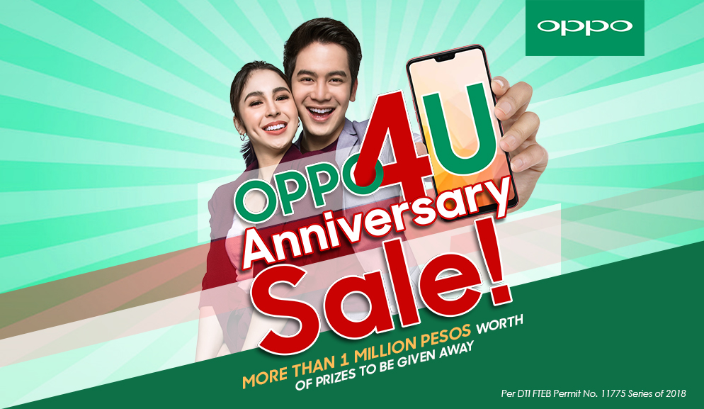 OPPO4U Anniversary Sale Mechanics