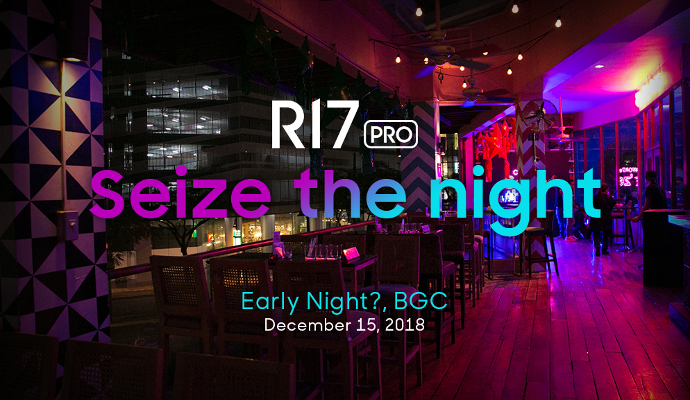 OPPO R17 Pro is the ideal nightlife partner for young urbanites
