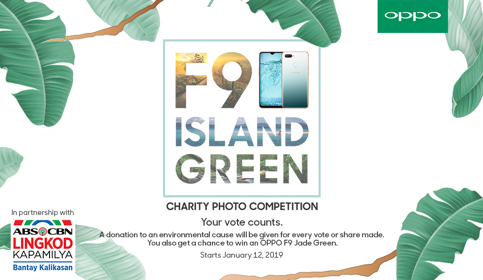 Help make the La Mesa Watershed greener through OPPO x ABS-CBN Bantay Kalikasan's Charity Photo Contest