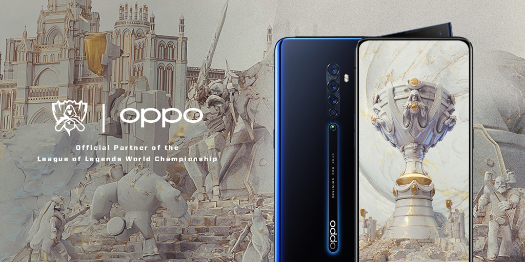 OPPO Named First Global Smartphone Partner of League of Legends Esports
