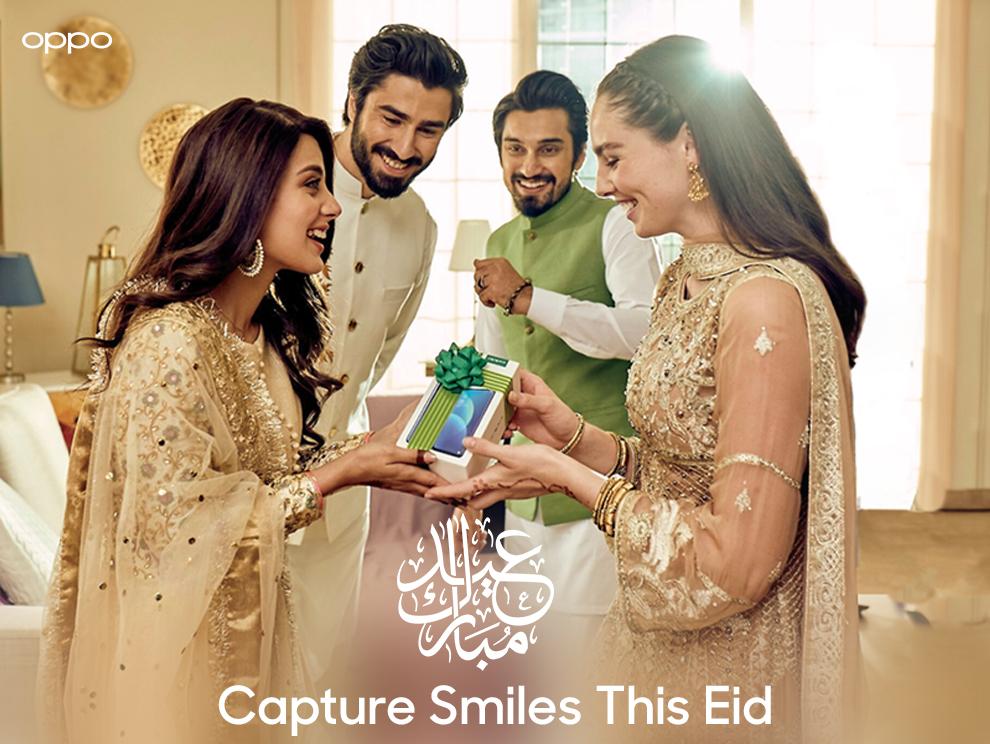 "OPPO Unveils its ""Capture Smiles"" TVC Ahead of Eid"