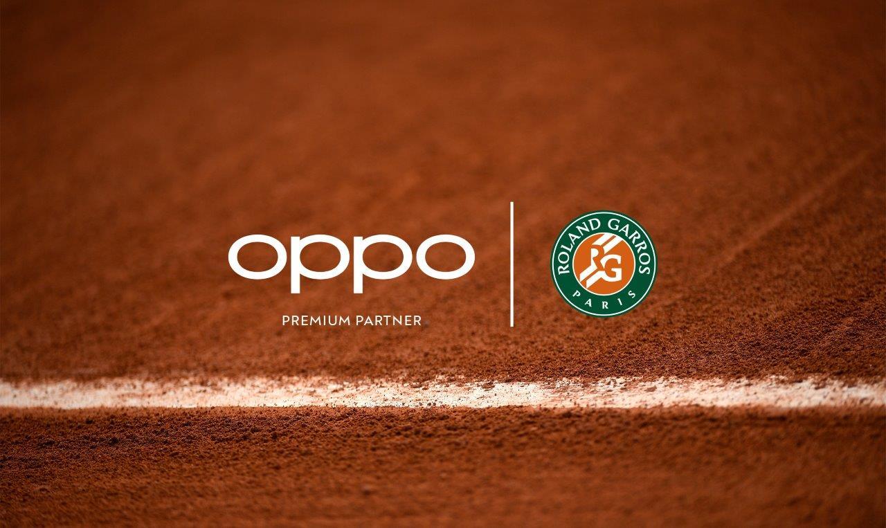 OPPO oficjalnym partnerem turniejów tenisowych French Open