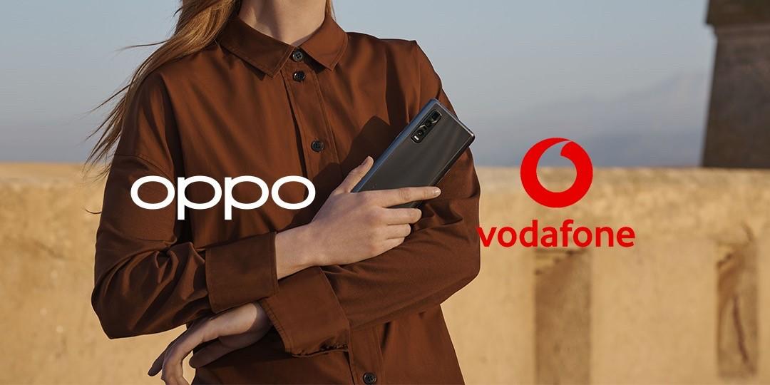 OPPO и Vodafone объявили о заключении партнёрского соглашения