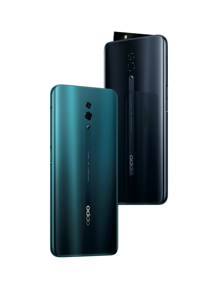 OPPO Reno уже в продаже: панорамный экран и технология быстрой зарядки VOOC 3.0