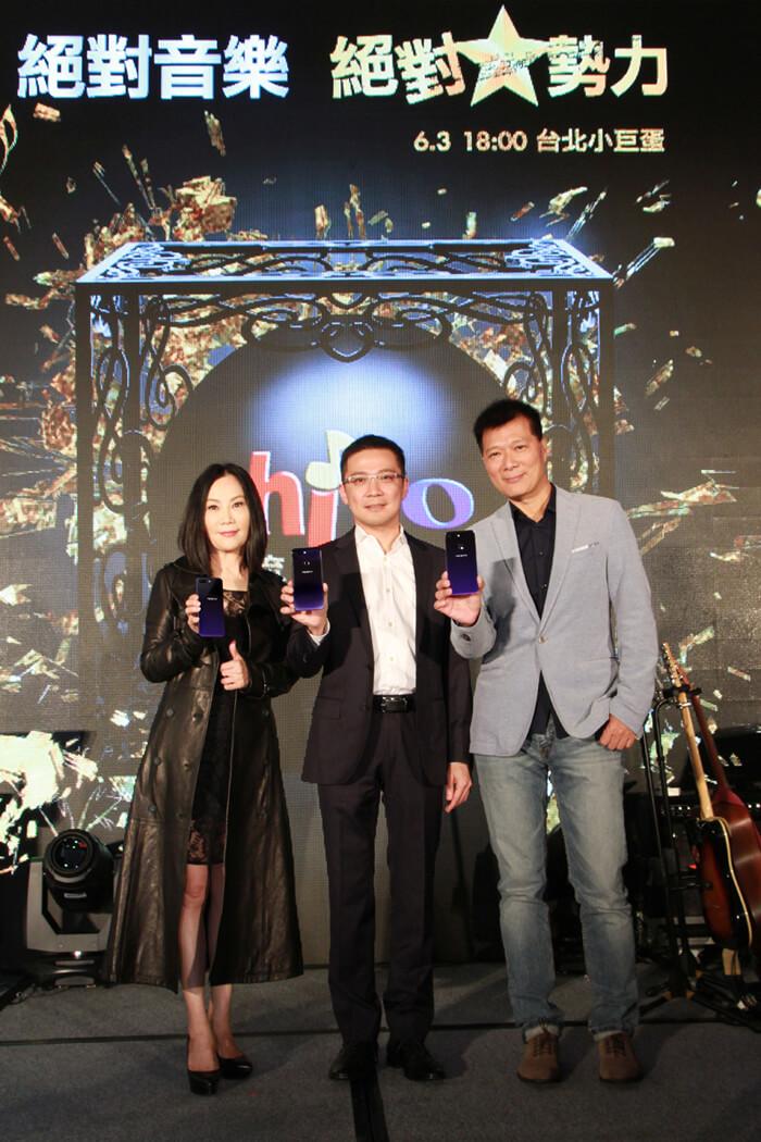 OPPO R15首次在台現身 絕美外型艷驚「2018 hito流行音樂獎頒獎典禮」啟動儀式記者會