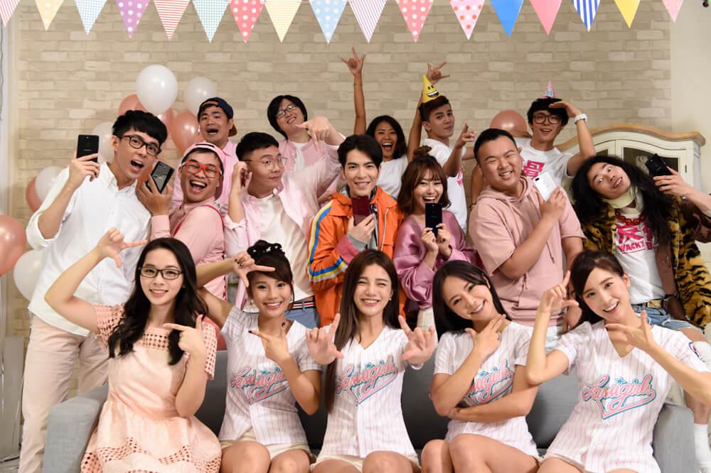 OPPO攜手蕭敬騰共同創作手勢舞 YouTuber全明星陣容加持同框演繹年輕自然美 歡喜迎接R15於5月7日熱鬧發表