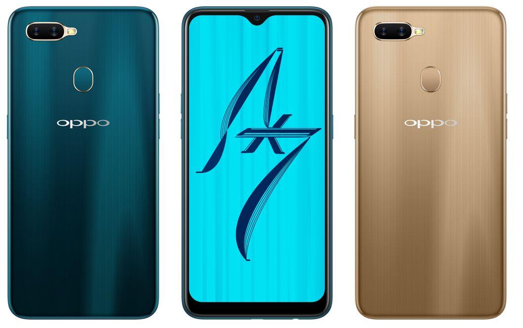 輕薄時尚機身與超長續航的完美搭配 OPPO AX7耀光金12月1日遠傳電信正式上市