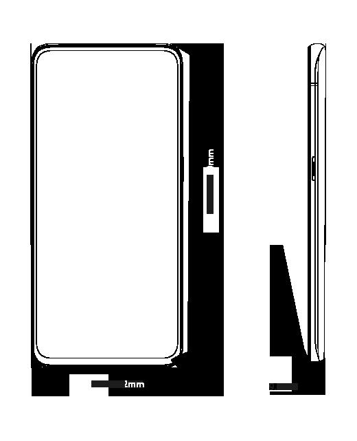 OPPO Reno 系列 尺寸圖