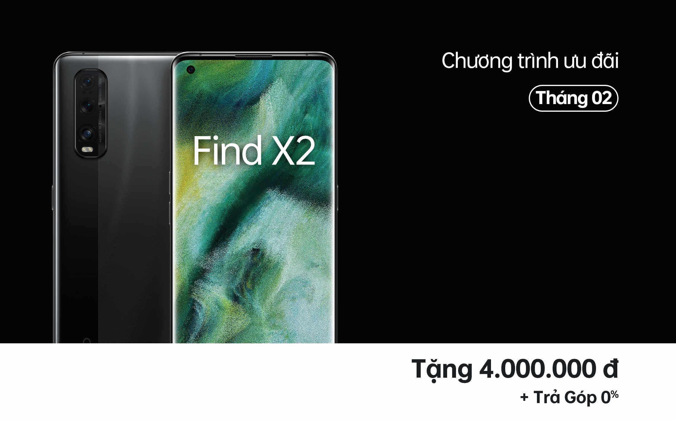 Find X2 Ưu Đãi