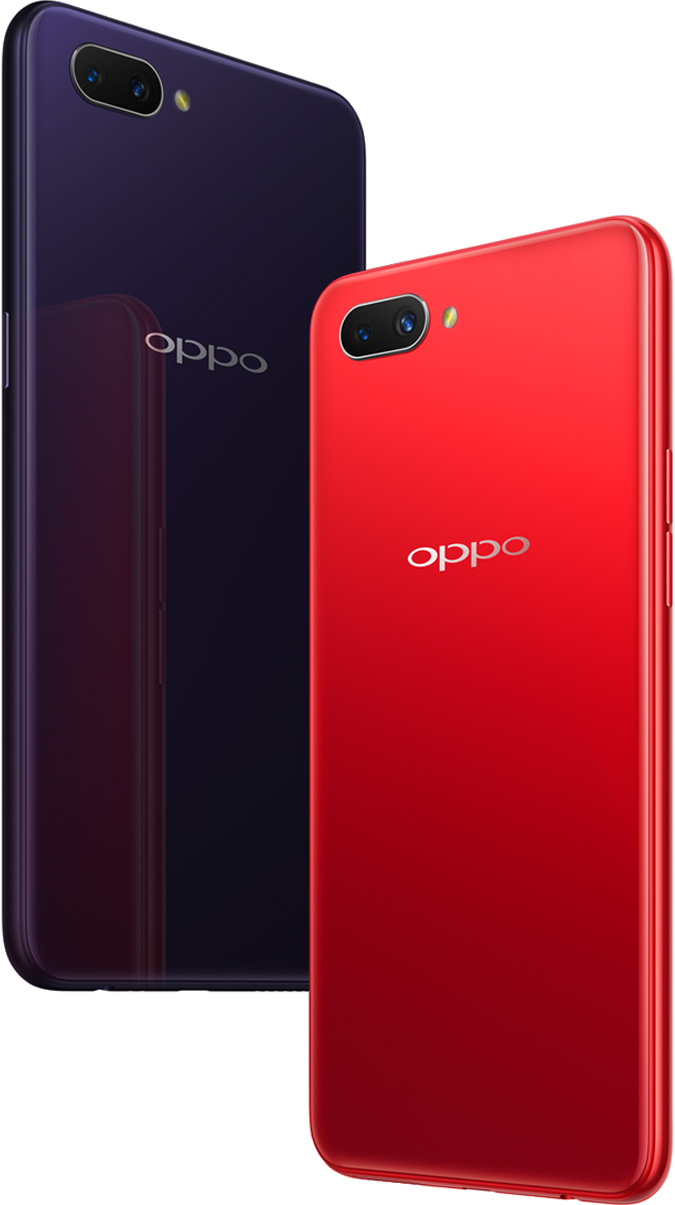 Image result for Oppo A3S Pro red