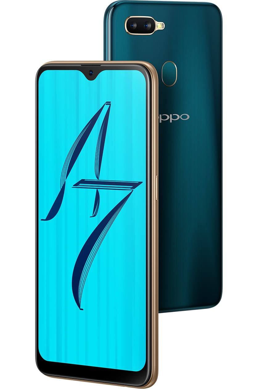 OPPO A7-waterdrop screen and 4200mAh battery smartphone