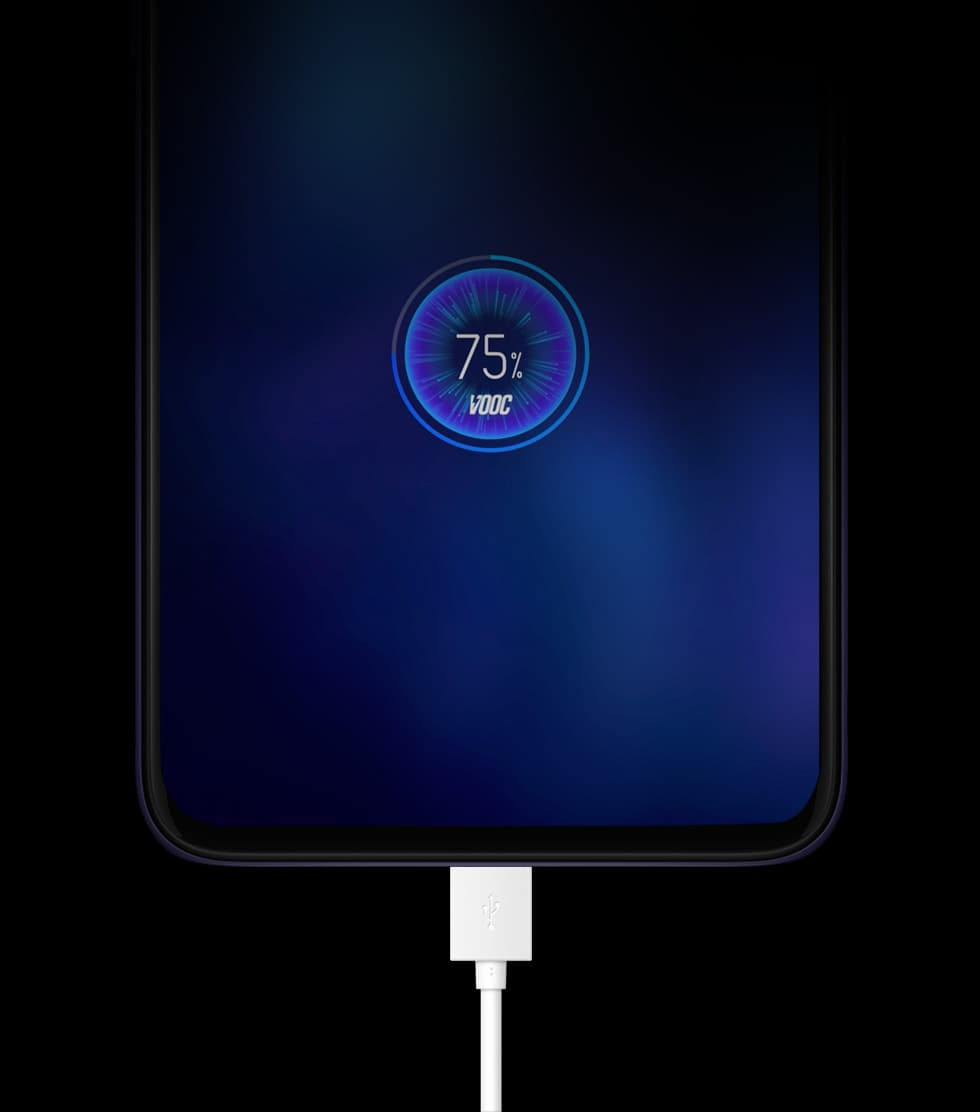 OPPO F11 - vooc flash charge 3.0