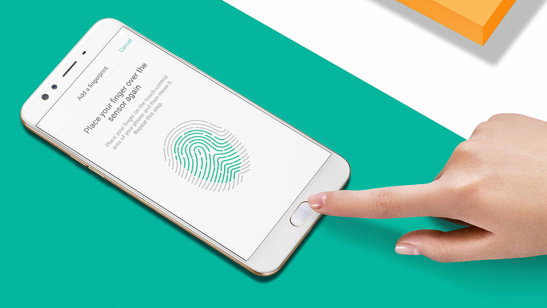 F3 Plus Upgraded Fingerprint Sensor