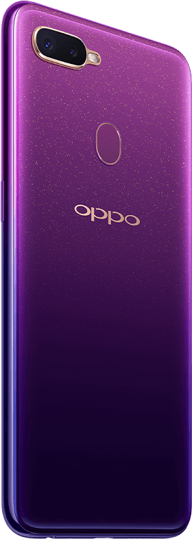 مميزات OPPO F9 Starry Purple Edition