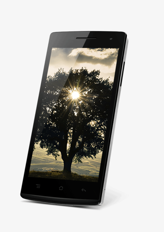 OPPO Find 5 mini Perfect Images Come from<br><strong>The Most Vivid Colors</strong>