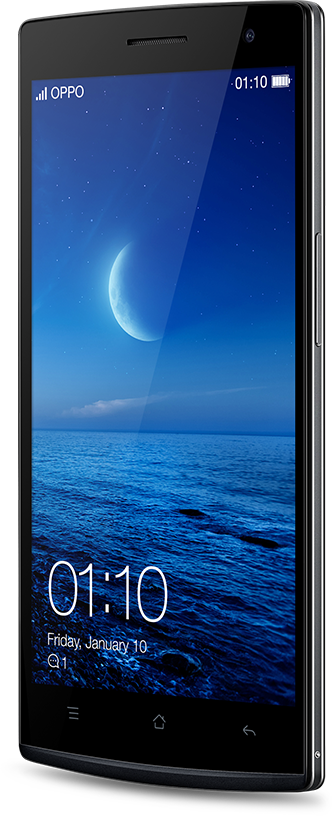 OPPO Find 7a  black phone