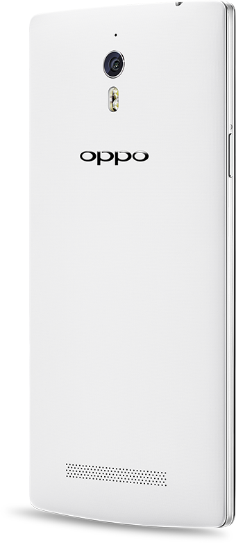 OPPO Find 7  white phone