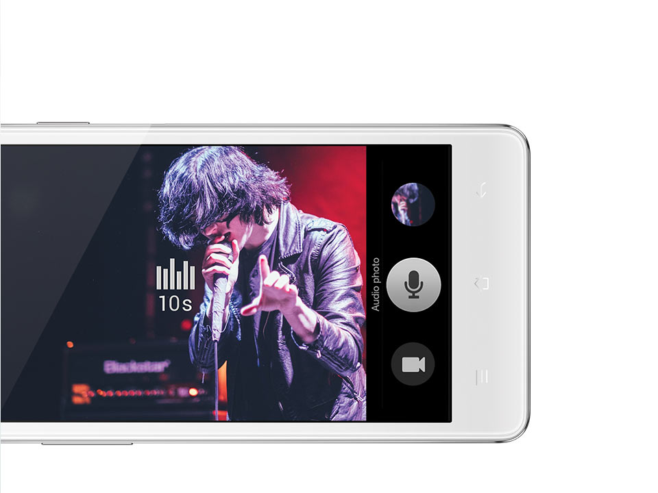 OPPO Joy3  Audio Photo وضعية تصور