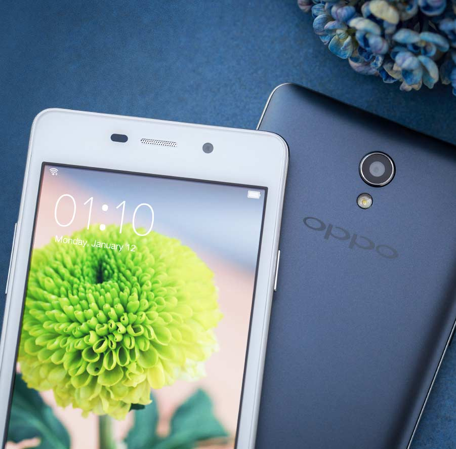 OPPO Joy3  Leap Up, Reach joy