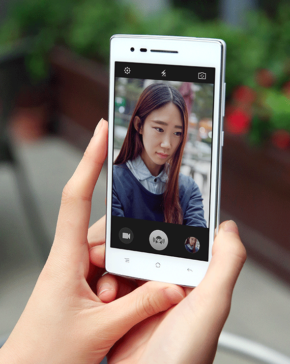 OPPO Mirror3  Beautify Mode