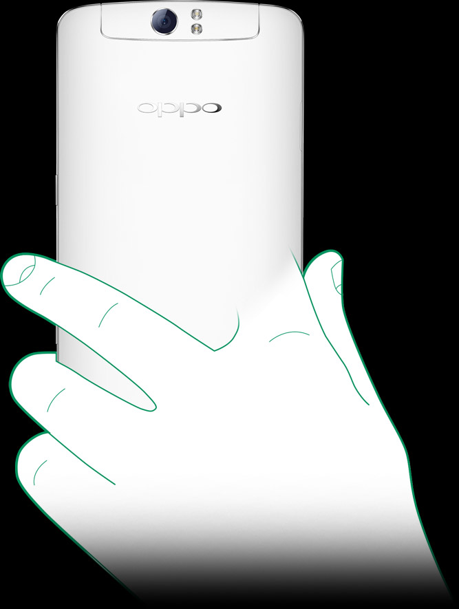 OPPO N1  O-Touch Panel