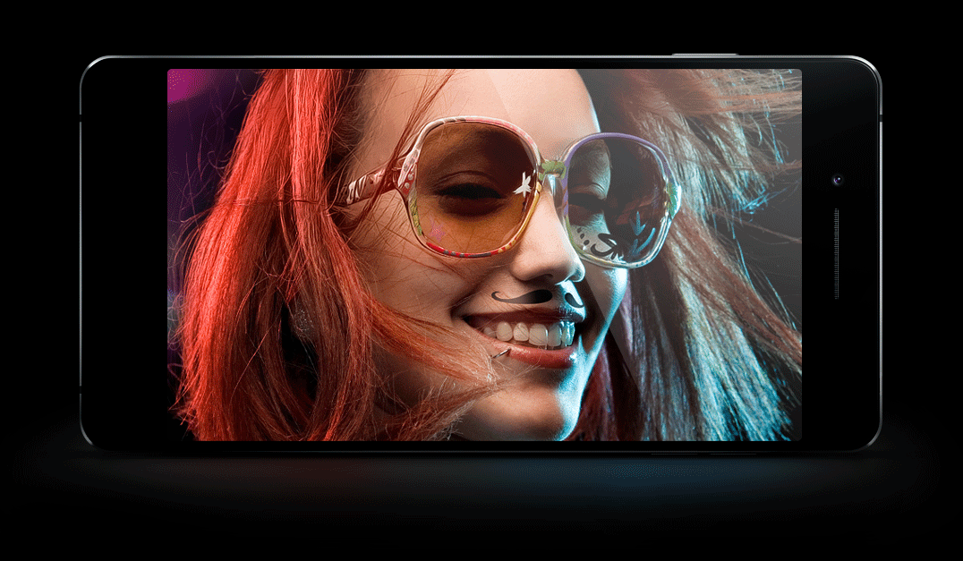 OPPO R1  5 MP Beautify Front Camera, Capture the most Perfect Side of you