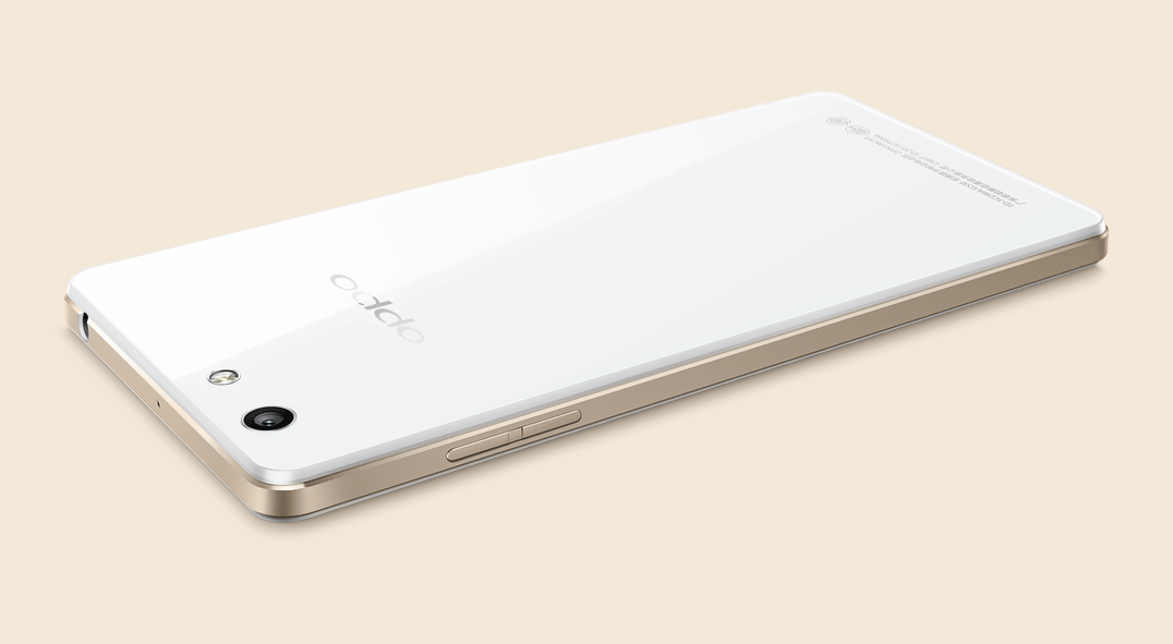 OPPO R1  Gleaming Glass, Aesthetic Design Technique