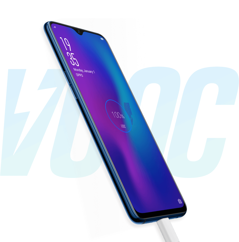 R17 - VOOC flash charge