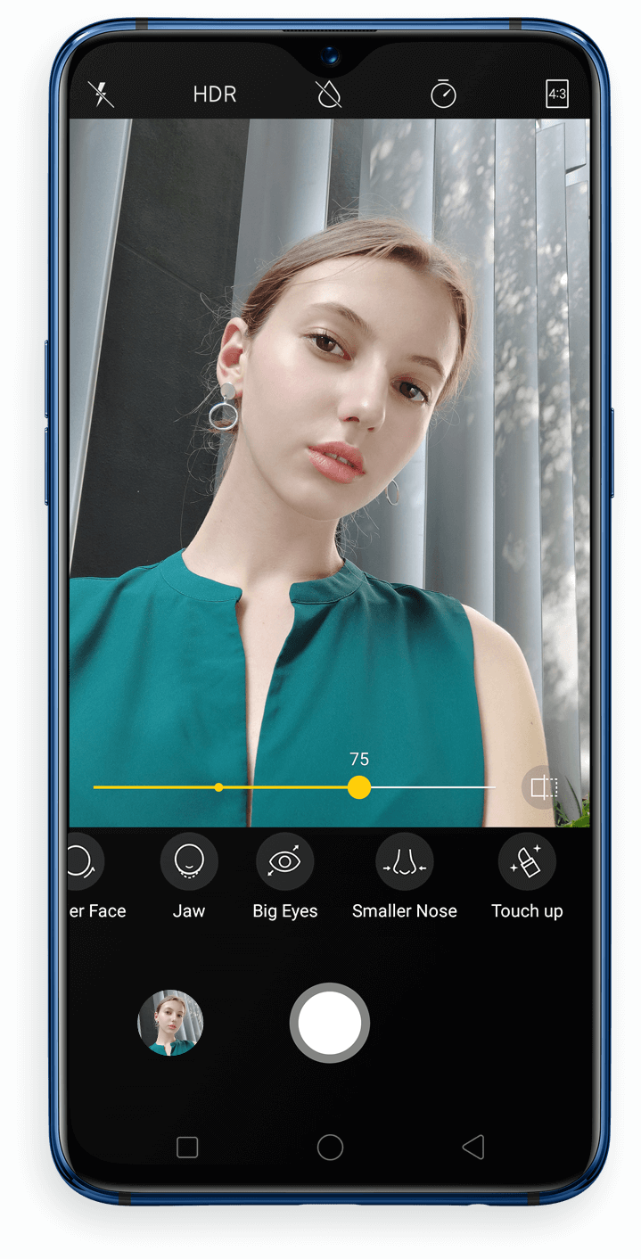 OPPO R17 - 25MP front camera