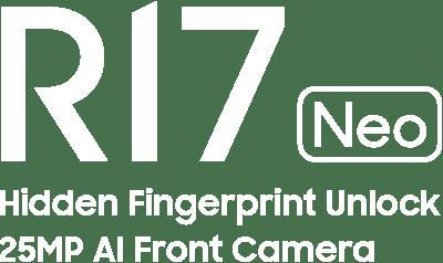 OPPO R17 Neo - Hidden Fingerprint Unlock, 25MP AI Front Camera
