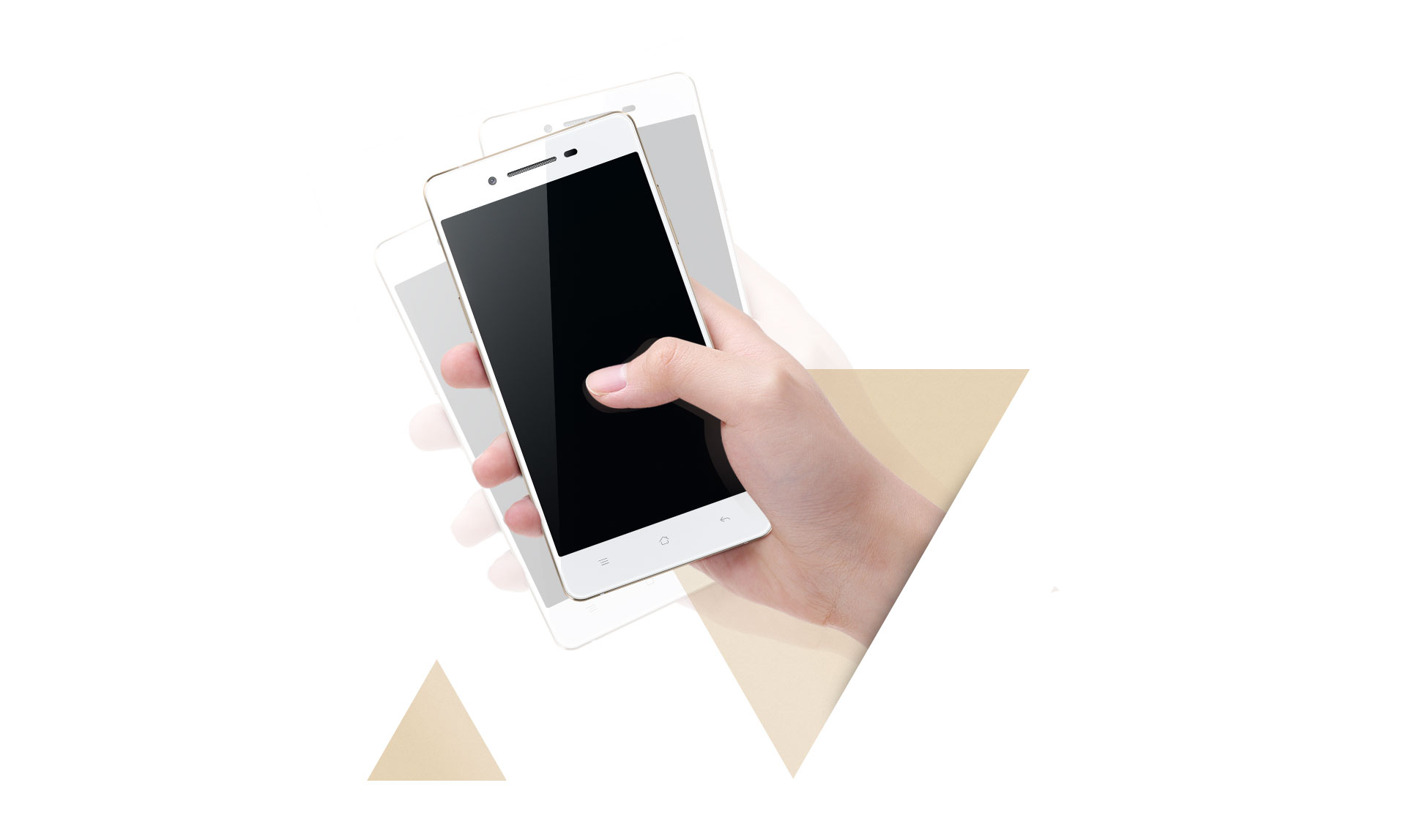 OPPO R1k  Smart Somatosensory System <br />and Contact-less Actions