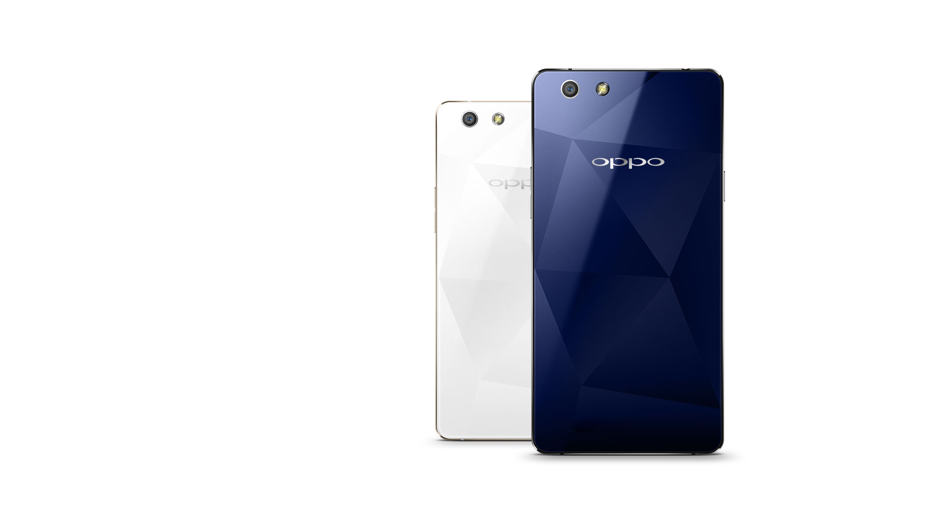 OPPO R1x  Faceted Design