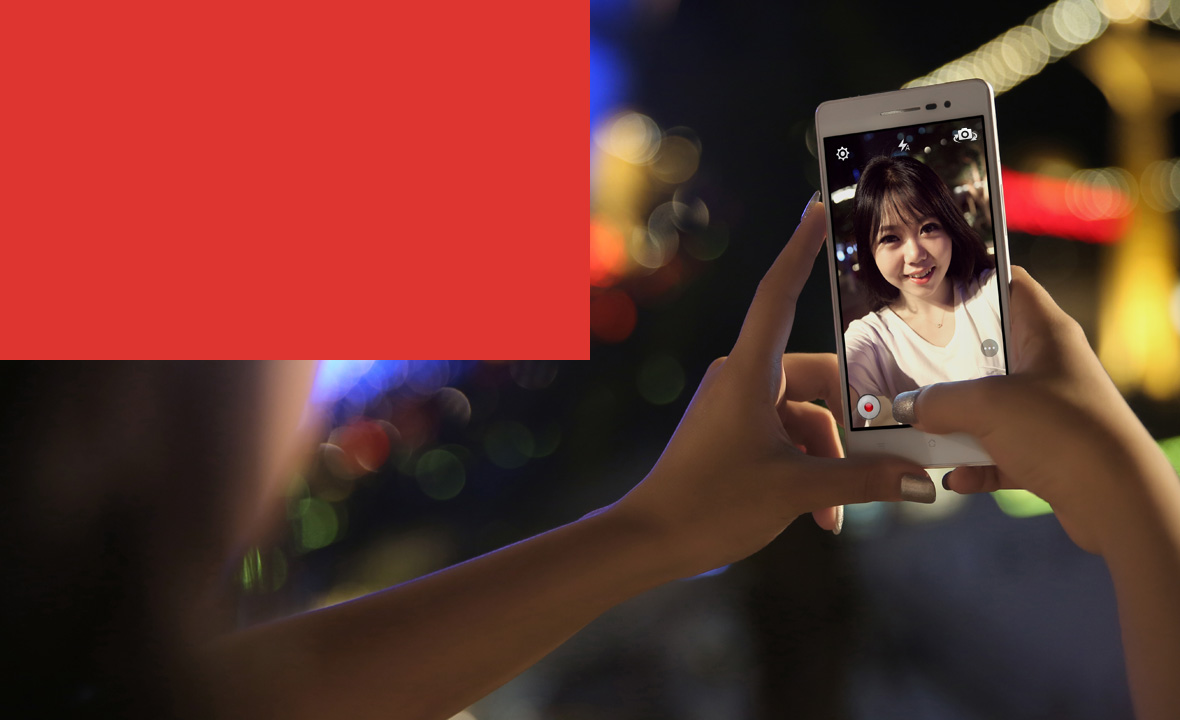 OPPO R3  5MP Front Facing Camera Brings Clarity To Give You Beauty