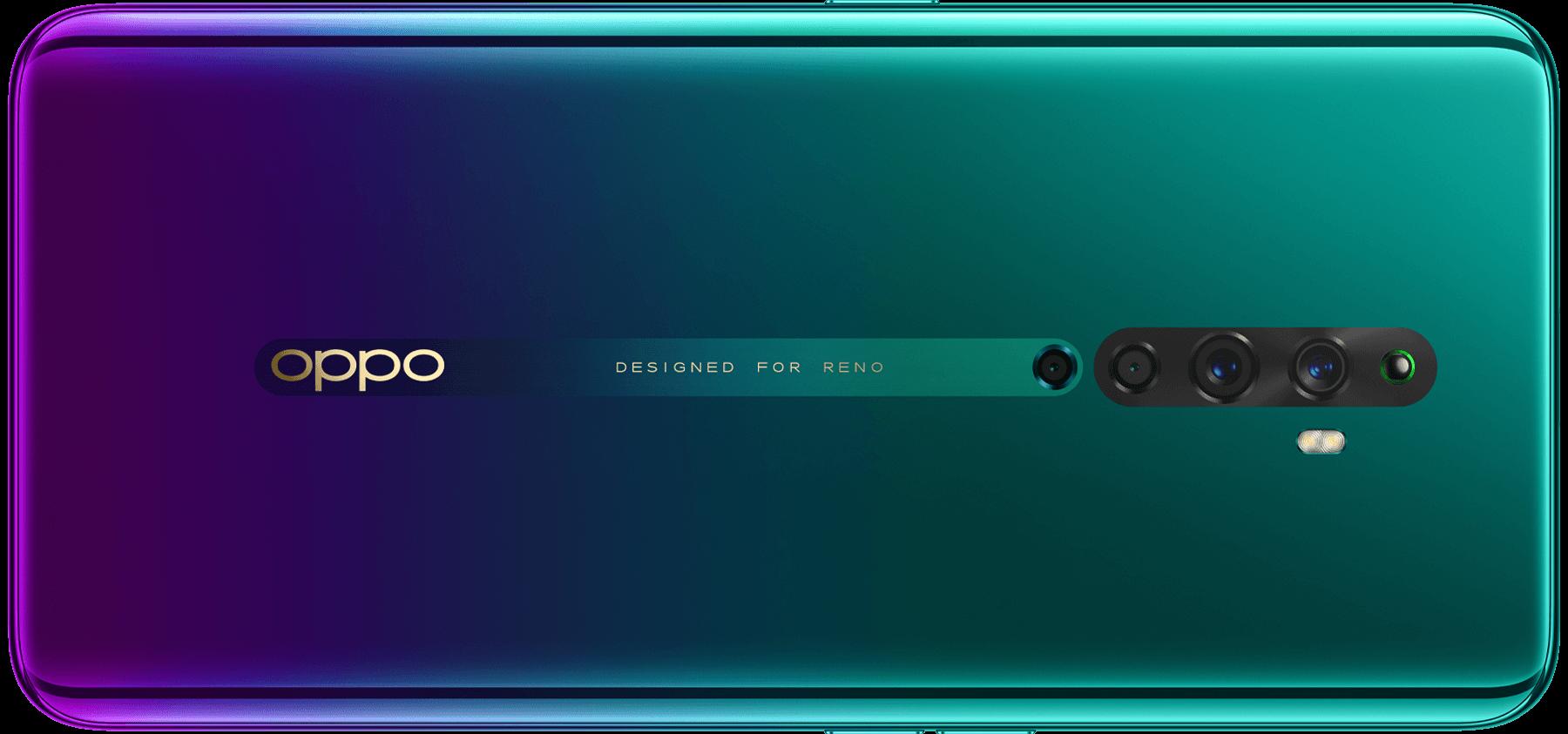 OPPO Reno2 F Nebula Green